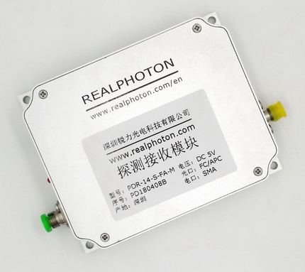 50G~10GHz 探测接收模块, PIN探测器, 覆盖C, L & O波段