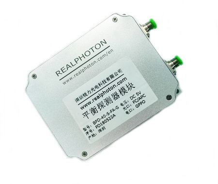 40G~20Gbps 平衡探测器 接收模块, 覆盖C, L & O波段