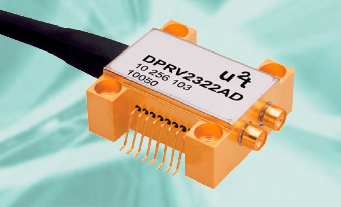 40G速率 Finisar 菲尼萨高速光电探测器 DPRV2322A 带光纤 U2T
