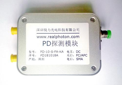 10G速率 PIN-TIA探测器, 探测接收模块, 覆盖C, L & O波段